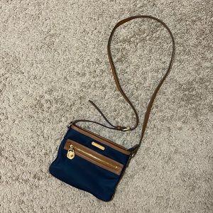 michael kors small nylon satchel